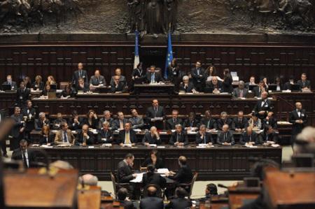 13 maggio 2008, camera dei deputati. Il nuovo governo chiede la fiducia.