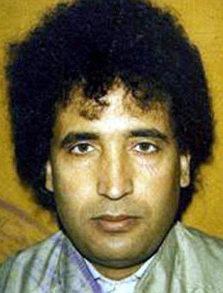 Abdel Basset Ali al-Megrahi nella foto di cui disponevano i media europei all'inizio degli anni Novanta.
