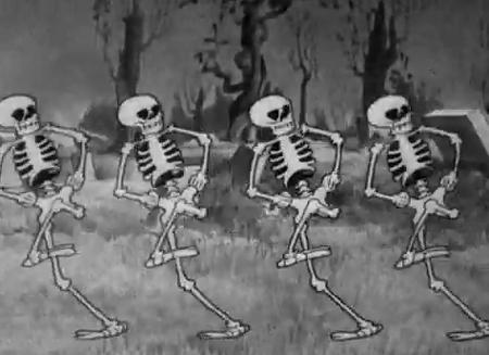 Danza macabra, Walt Disneu