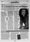 La prima parte dell'intervista a Veronica Tomassini apparsa ieri 17 giugno 2011 nel settimanale Centonove