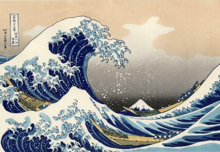 Kanagawa, La grande onda