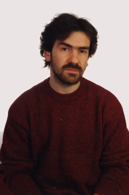 Giulio Mozzi nel 1985