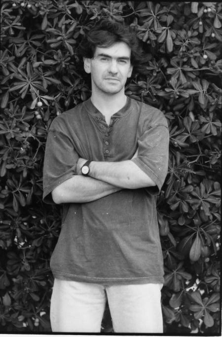 Giulio Mozzi nel 1992. Foto di Giovanni Giovannetti