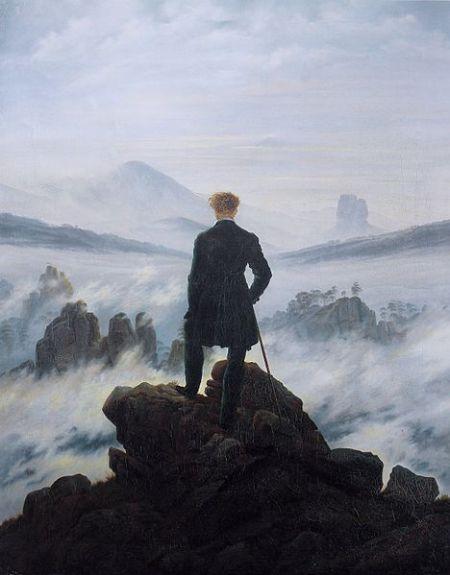 Caspar David Friedrich: Il viandante