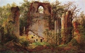 Friedrich - Le rovine di Eldena