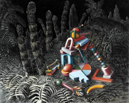 Alberto Savinio: Nella foresta, 1930