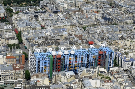 Parigi, Beaubourg, Centre Pompidou (Rogers-Piano)