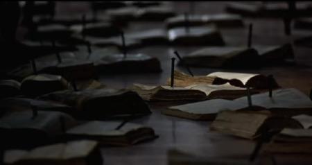 Fotogramma dal film Centochiodi di E. Olmi