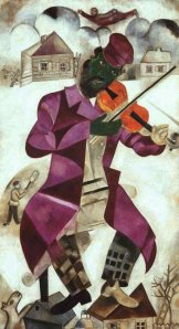 chagall violinista