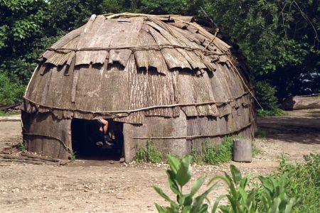 Wigwam at Plymouth Plantation
