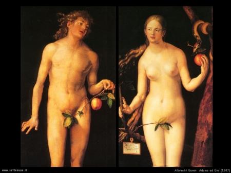 Albrecht Durer, Adamo ed Eva