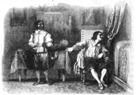 Il Griso (a destra) e don Rodrigo, cap. xxxiii