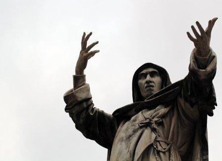 Il noto predicatore Girolamo Savonarola.