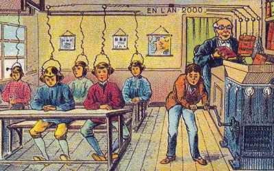 La scuola del 2000, immaginata tanti anni fa