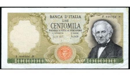 Un Manzoni, centomila lire.