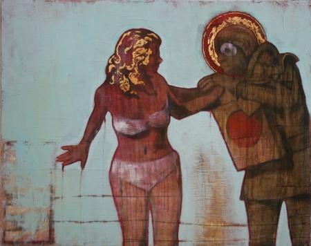 Jonathan Alibone, The Annunciation