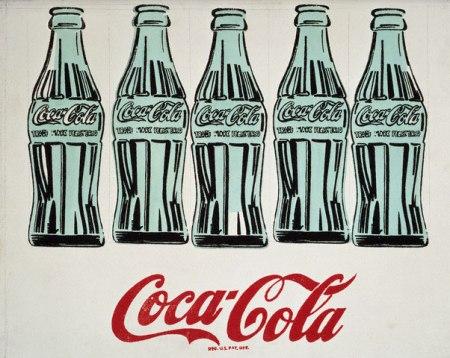 Andy Warhol, Cinque bottiglie di Coca-Cola
