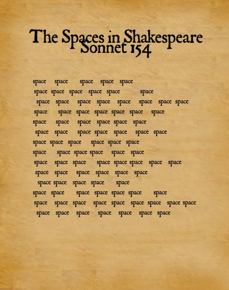 sonnet 154 spaces