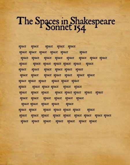 sonnet 154 spaces