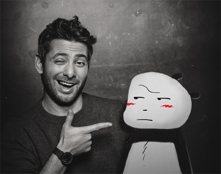 Giacomo Bevilacqua e Panda (foto di Manuela Kalì)