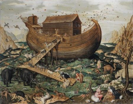 L'arca di Noè sull'Ararat, di Simon de Myl