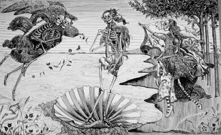 José Guadalupe Posada: La nascita di Venere