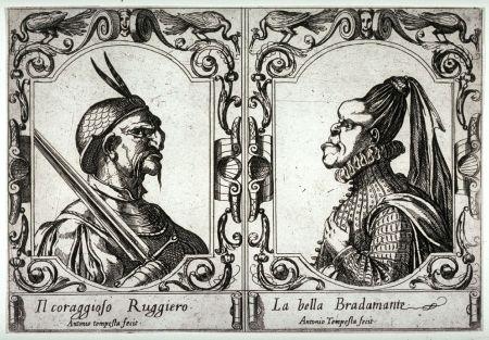 Ruggero e Bradamante: bellezze a confronto