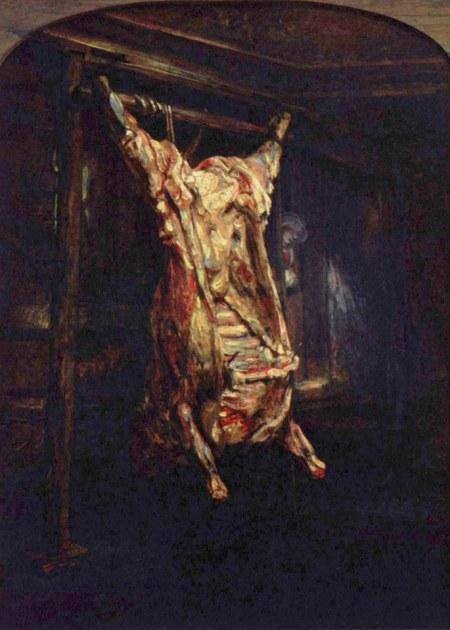 Con una geniale intuizione, qui Rembrandt (1606-1669) ha rappresentato la condizione della casa editrice Bompiani dopo la migrazione verso la varanda Nave di Teseo della direttrice editoriale e dei maggiori autori.