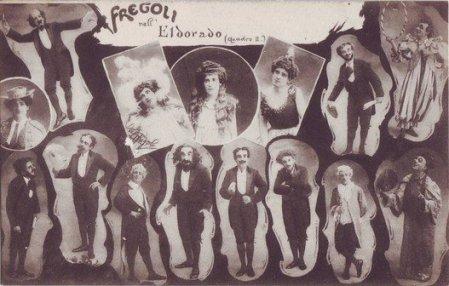 Leopoldo Fregoli, celebre trasformista.