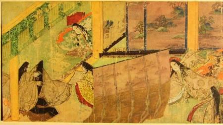 Genji Monogatari Emaki (capitolo 50, Azumaya), XI secolo