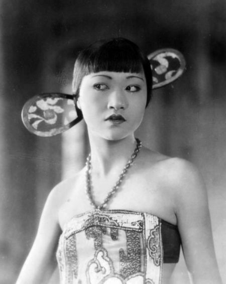 Anna May Wong nella parte di Turandot, 1925