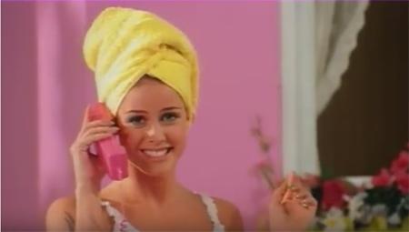 Lene Nystrøm in Barbie Girl, Aqua