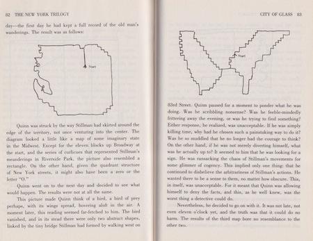 Paul Auster, Città di vetro (da Trilogia di New York)