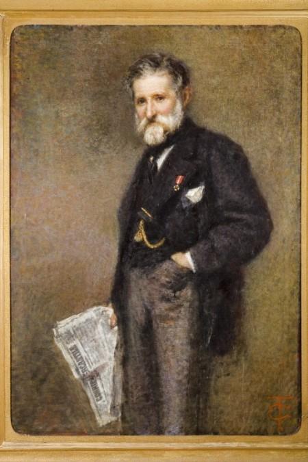 Tranquillo Cremona: Ritratto di Giuseppe Bianchi