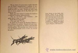 L'ultima pagina (da una ristampa della prima edizione)