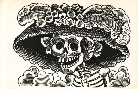 Un'incisione di José Guadalupe Posada